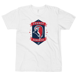 LTS Surprise Falcons White Logo T-shirt 2020